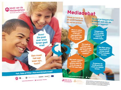 Poster Week van de Mediawijsheid 2016